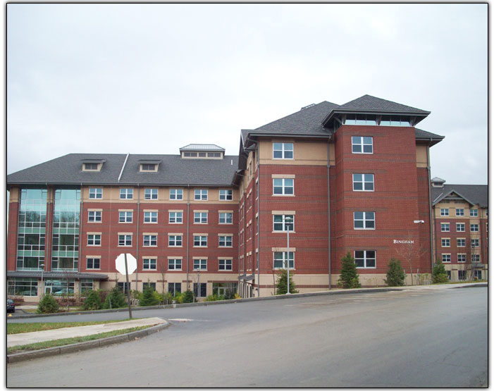 LEED Certified Gold Project - High Tech Labs - Bingham Hall